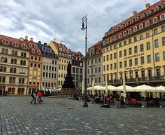 Nuemarkt in Dresden, Germany (` Toshio ') Tags: toshio nuemarkt dresden germany german square people architecture buildings restaurant shops cafe europe european europeanunion