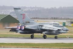 (scobie56) Tags: panavia tornado gr4 zd741 'macrobert's reply' xv 15 reserve squadron raf lossiemouth lossie moray scotland farewell