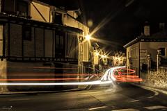 De nit (ancoay) Tags: castella carrer nocturna segovia longexposure 7dwf night noche calle luces ancoay crazytuesdaytheme