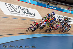 SCCU Good Friday Meeting 2017, Lee Valley VeloPark, London (IFM Photographic) Tags: img5164a canon 450d ef2470mmf28lusm ef 2470mm f28l usm lseries leevalleyvelopark leevalleyvelodrome londonvelopark olympicvelodrome velodrome leyton stratford londonboroughofwalthamforest walthamforest london queenelizabethiiolympicpark hopkinsarchitects grantassociates sccugoodfridaymeeting southerncountiescyclingunion sccu goodfridaymeeting2017 cycling bike racing bicycle trackcycling cycleracing race goodfriday