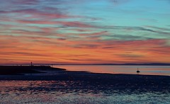 Morecambe (plot19) Tags: morecambe nikon north northern northwest sunset sea sunrise son light landscape red english england uk britain plot19 photography