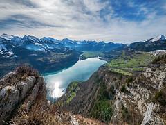 Milky Lake (d/f) Tags: amden chapf alpen walensee schweiz suisse switzerland arvenbüel lakewalen lakewalenstadt landschaft landscape