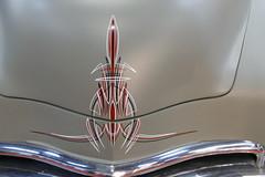 1950 Chevrolet pinstripe (bballchico) Tags: 1950 chevrolet pickuptruck jeffpetersen bobbipetersen slopokscc portlandroadstershow prs2017 carshow pinstripe