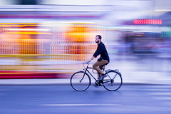 IMG_1790_3 (Arthur Pontes) Tags: motion fast lightpainting pan effect paint roads bike motorcycle helmet blur bluring cross lisboa lisbon portugal street 50mm