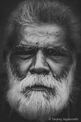 People on the road - 365 Portrait Project - Day 101 (Tarang Jagannath) Tags: 365portrait people real ontheroad blackandwhite beard