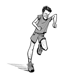 #jogger #peace #wip #sketch #art #drawing #mangastudio #doodle #runner #sketchoftheday (lipuster) Tags: childhood life kids india innocence stories art illustration sketch drawing