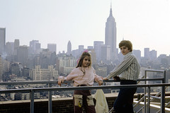 "My sister and I on the roof of the old Port Authority building at 15th Street and 8th Avenue. We were here for ""bring your kids to work day"". The Midtown skyline behind us including the Empire State Building. New York. March 1973 (wavz13) Tags: oldphotographs oldphotos 1970sphotographs 1970sphotos oldphotography 1970sphotography vintagesnapshots oldsnapshots vintagephotographs vintagephotos vintagephotography filmphotos filmphotography newyorkphotographs newyorkphotos oldnewyorkphotography oldnewyorkphotos vintagenewyork vintagemanhattan vintagenewyorkphotography vintagenewyorkphotographs vintagenewyorkphotos family familyphotos familyphotography oldfamilyphotos oldfamilyphotography vintagefamilyphotos vintagefamilyphotography urbanphotography urbanphotos urbanscenes cityphotography kodachrome oldslides vintageslides vintagekodachrome oldkodachrome vintageteens vintageteenagers teenmemories teenagememories vintageteengirls vintageteenagegirls female longhair oldclothes vintageclothes oldclothing vintageclothing manhattanskyline newyorkskyline newyorkskyscapers 1970smanhattan 1970snewyork oldnewyork"