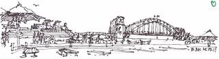 Napkin Sketch - Sydney - Opera Bar
