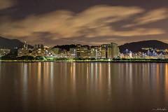 Rio de Janeiro (Bel Raske) Tags: colorful longexposure long citylights city nightshoot ocean sea rio de janeiro rj riodejaneiro night lights