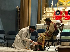 "Washing of the feet service 2017 • <a style=""font-size:0.8em;"" href=""http://www.flickr.com/photos/124917635@N08/33880011042/"" target=""_blank"">View on Flickr</a>"