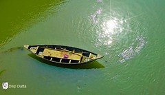 Water Colour ... the boat (Dilip Datta) Tags: watercolourtheboat water boat river riverboat outdoor villagebengal bengal village countryboat northbengal dilipdattasphoto