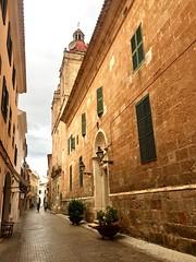 """Iglesia de Ciudadela"" (atempviatja) Tags: pueblo isla menorca ciudadela piedra iglesia"
