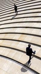 DSCF7825 (idlphoto) Tags: stairs escaleras minimalism minimalismo pareja couple bilbo bizkaia fuji fujixt1 fujinon18135 fujistas street