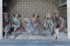 Saint-Omer (Pas-de-Calais) - Cathédrale Notre-Dame - Mise au tombeau (15e) (Morio60) Tags: saintomer pasdecalais 62 cathédrale notredame miseautombeau