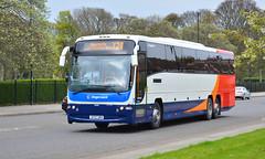Stagecoach North East: 54045 / SF57DRV (danielgrahamm) Tags: stagecoachnortheast stagecoach stagecoachinsunderland sunderland x24 newcastle volvo coach volvob12b plaxtonpanther nebuses