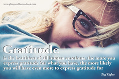 Gratitude Is the Healthiest of All Emotions... (GlimpseofHeavengirl) Tags: adversity blessings choices divinepotential glimpseofheaven god gratitude growth happiness inspiration learning life love peace personalgrowth personalpower purposeoflife thankfulness thanksgiving