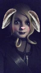 Bunny face!!! (Tatiana brooks) Tags: crossdressing crossdresser crossdress genderqueer queer lgbt rabbitears rabbit ladyboy shemale mtf transgender transexual trans