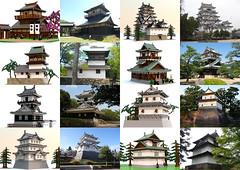 Lego Japanese Castle Creations 03 (Sunho Park) Tags: lego creations japanese castle modular