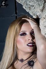 Gothic girl (ruthsalvador (Ruth Makeup)) Tags: maquilladoramurcia makeupartist maquillajeprofesional murcia makeup gótica sesionfotográfica shooting