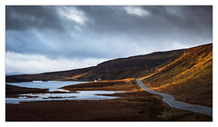Loch Fada (Dave Fieldhouse Photography) Tags: lochfada loch scotland isleofskye skye highlands march2017 sunrise dawn morning road roadside wwwdavefieldhousephotographycom clouds fuji fujixt2 fujifilm