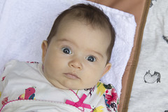 surprised Tabitha! (louisa_catlover) Tags: baby child girl daughter cute surprised portrait family