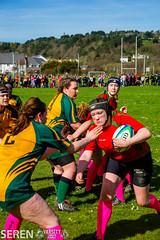 2017:03:25 14:30:01 (serenbangor) Tags: 2017 aberystwyth aberystwythuniversity bangoruniversity seren studentsunion undebbangor varsity rugby rugbyunion sport womens