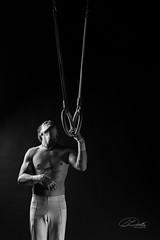 K67A1228 (johann dudla) Tags: rings man blackandwhite athlete plauen vogtland sportler schwarzweis innenaufnahme