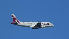 Amiri (ƒliçkrwåy) Tags: a7mbk airbus a320 cj corporatejet aircraft airliner aviation qatar egll lhr prestige