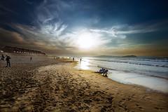 De vuelta (noldor12) Tags: somoplayas playa loredo ribamontánalmar cantabria spain canoneos6d canonef1635f4isusm marcantábrico atardecer