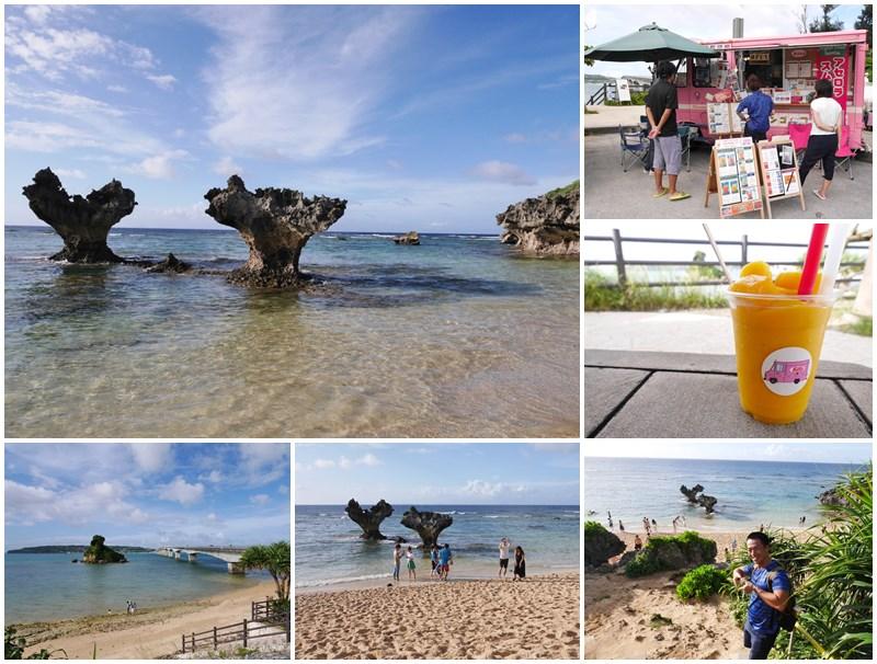 沖繩旅遊.古宇利島.心型礁岩.芒果冰.page