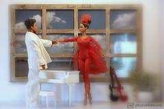 """baby, baby, baby... what's it gonna be?"" (prince) (photos4dreams) Tags: mistyprincep4d mistycopelandfirebirdp4d dress barbie mattel doll toy photos4dreams p4d photos4dreamz barbies girl play fashion fashionistas outfit kleider mode puppenstube tabletopphotography bilitis hamilton soft focus ballett ballet dancer dancers tänzerinnen tänzerin ballerina mistycopeland star primal diorama aa beauties beautiful girls women ladies damen weiblich female firstafricanamericanfemaleprincipaldancerwiththeprestigiousamericanballettheatre principaldancer primaballerina firebird feuervogel phoenix prince purple rain hispurplehighness"