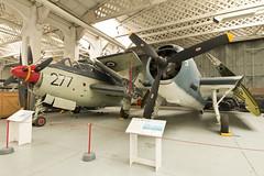 IMG_2592 (graham87rose) Tags: imperial war museum duxford aircraft plane flight grumman tbm3e avenger fairey gannet ecm6 xg797 cfkcg royal navy