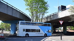 Second view of National Express Coventry 4190 (paulburr73) Tags: 4190 y795toh coventry whitestreet nxc nationalexpress dennis trident alexander alx400 withdrawn resurrected april 2017 spring
