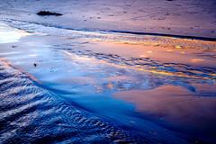 ºº WAiHi sand ºº (m+m+t) Tags: dscf39921 mmt meredithbibersteindesign newzealand fujixt1 fujixseries fujimirrorless 35mm waihi beach evening sand sunset water northisland