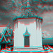 Phnom Penh K - The Royal Palace complex Anaglyph 3d