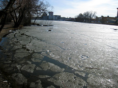 Melt that ice deep within (Sarrra ☆) Tags: ice water melting city