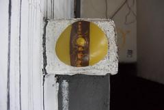 Intra Larue 938 (intra.larue) Tags: intra urbain urban art moulage sein pecho moulding breast seno brust formen téton street arte urbano pit paris france boob urbana peto tetta