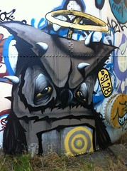 Never (Fat Guy In A Lil Suit) Tags: never graffiti owl 128 uploaded:by=flickrmobile flickriosapp:filter=nofilter