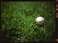 (Brooks was here) Tags: film grass baseball slidefilm fujireala fujifilm softball fujichrome reversal