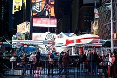 Lego X-Wing (xpressbus) Tags: newyorkcity usa newyork lego timessquare xwing