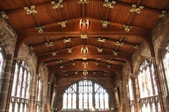 St Mary's Guildhall (richardr) Tags: old city uk greatbritain england building english heritage history architecture geotagged europe european unitedkingdom britain interior medieval historic british coventry stmary europeanunion warwickshire midlands guildhall saintmary themidlands medievalarchitecture geo:lat=5240787117891841 geo:lon=15073049068450928