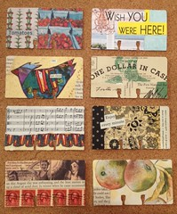 Altered Rolodex cards (B-Kay) Tags: altered rolodex