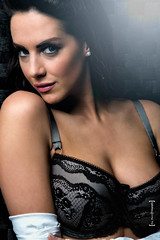 Katie Green (Gweebs 30) Tags: lighting uk sexy canon studio bedroom birmingham bare highcontrast lingerie lensflare seduction katiegreen canon5diii 3amodelsshots tiptopphotographystudio