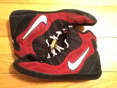 Red Nike 96 Takedown (Fancy-potato132(717) 504-5275) Tags: red shoe wrestling 7 nike used rare supreme 96 takedown