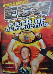 ECW Path of Destruction (earthdog) Tags: word dvd nikon wrestling robvandam ecw prowrestling 2013 afsdxvrzoomnikkor1855mmf3556g d5100 nikond5100