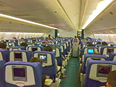 Cathay Pacific 777-300 Y Class HKG/TPE (Luxemburgerlis) Tags: cx seats cathaypacific