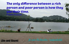 becomingrichofw.com/Quotes (GelisaLobiano) Tags: robert person is time rich poor difference use only they how their between the kiyosaki picmonkey:app=editor