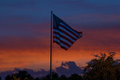 Happy Flag Day - After the Storm (Doug.Mall) Tags: sunset summer flag storms hss slidersunday dougmallnikond5000