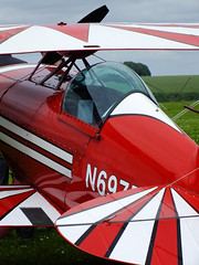 Amazing colours Pitts S-1T (Chris Parker2012) Tags: plane aircraft airshow pitts comptonabbas stuntplanes donhenry britishaerobaticassociation