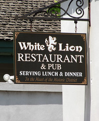 White Lion Pub Sign 04-26-2011 1 (David441491) Tags: saint florida augustine